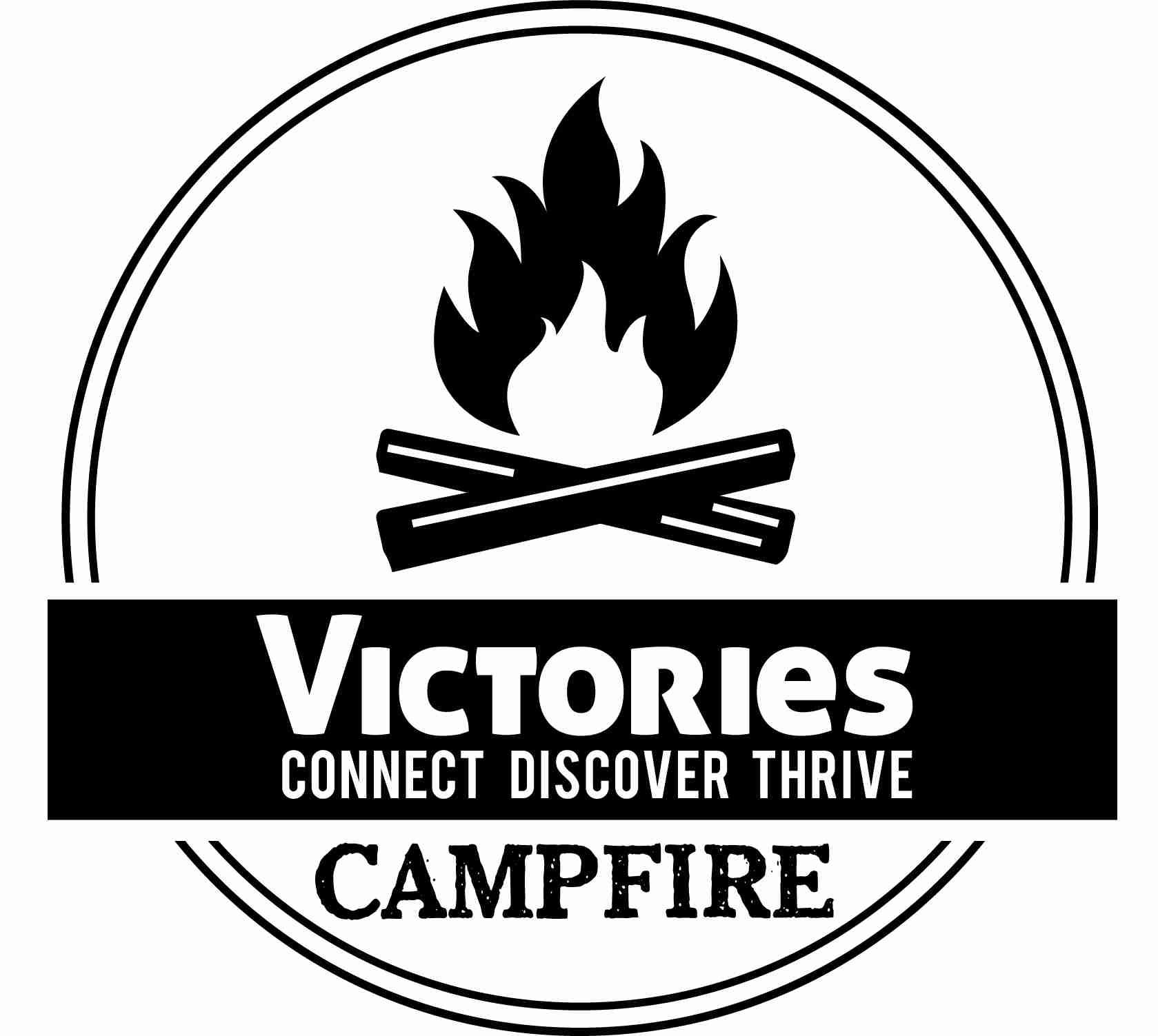 VICTORIES CAMPFIRES LOGO